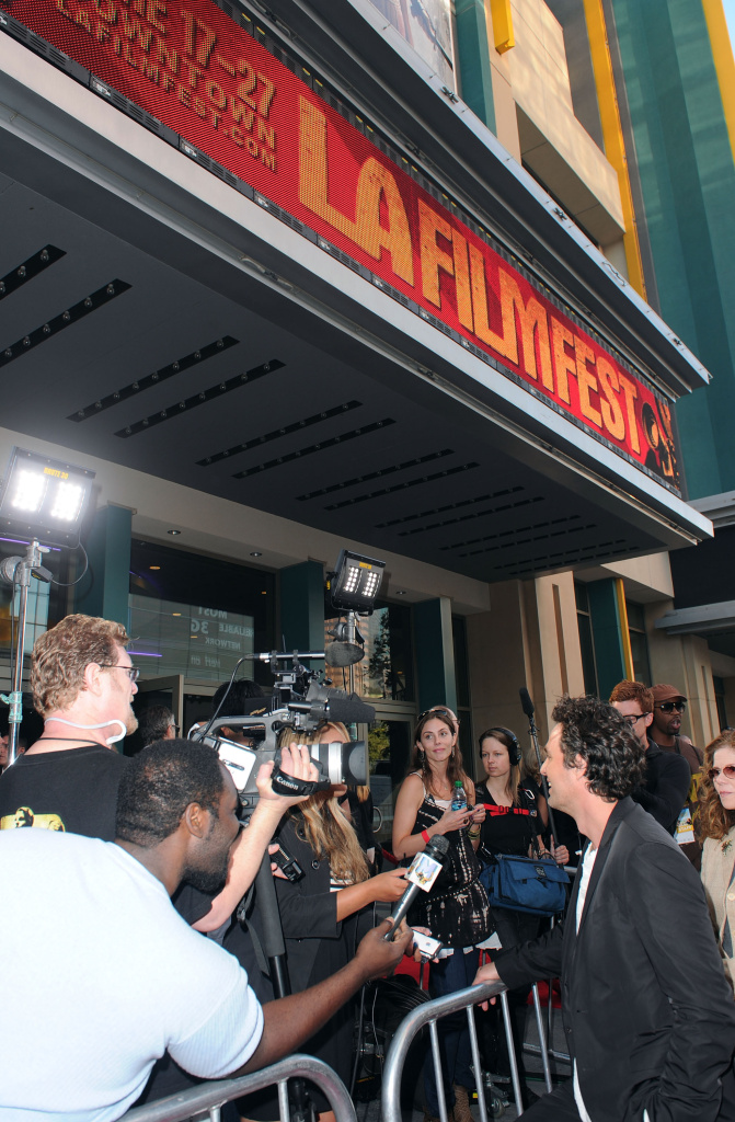 Actor Mark Ruffalo arrives at the premiere of Focus Features'