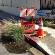 LADWP sign Garcetti