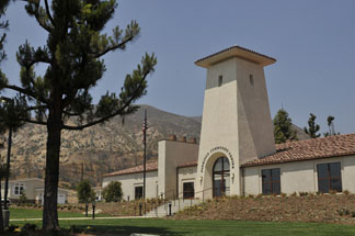 Photo of the new Oakridge Community Center which opened on July 23, 2010 courtesy of the City of Sylmar