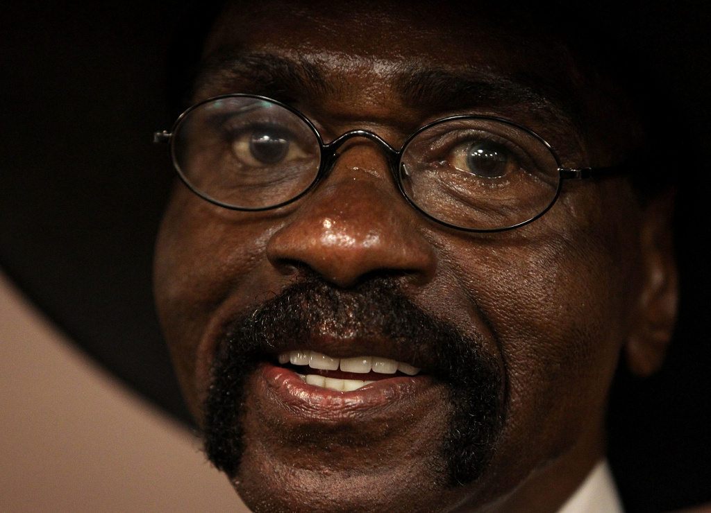 Rubin Carter looks on during the Justice WA Rubin