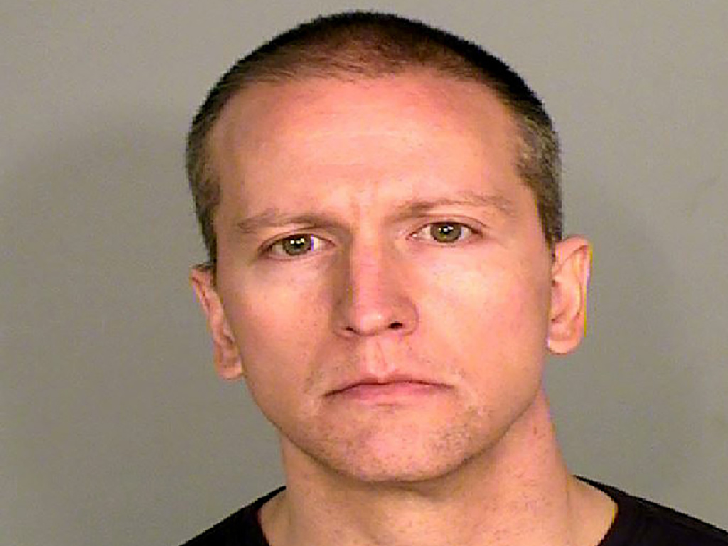 Former Minnesota police officer, Derek Chauvin, Ramsey County Sheriff's Office, May 29, 2020. Chauvin faces second and third-degree murder charges as well as one count of second-degree manslaughter.