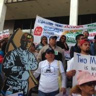 Deportation march