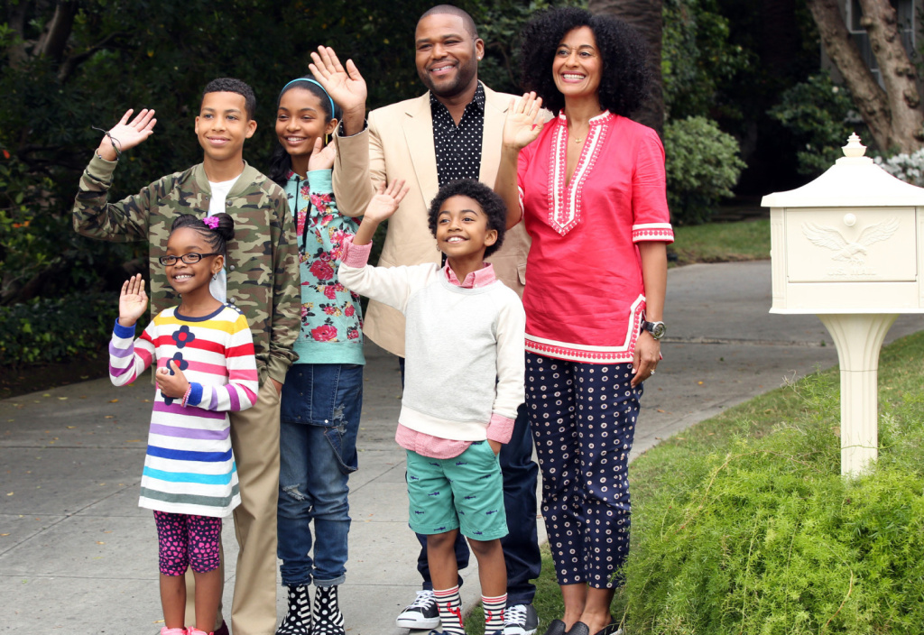 The cast of the new ABC show 'black-ish.'