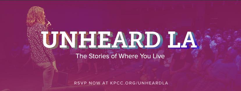 Unheard LA Horizontal Banner