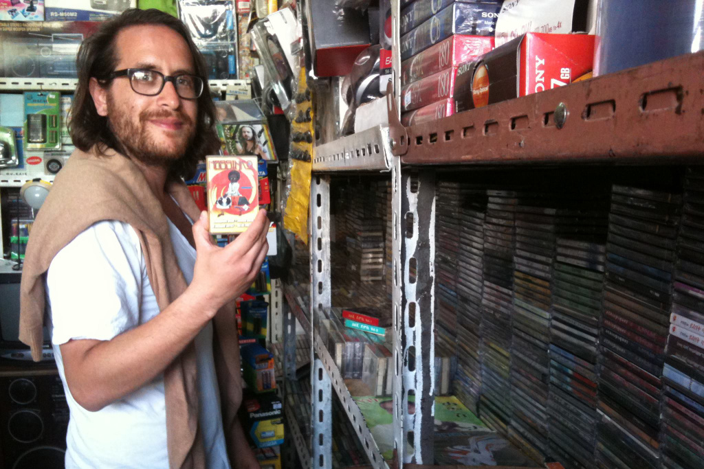 Awesome Tapes From Africa founder Brian Shimkovitz.