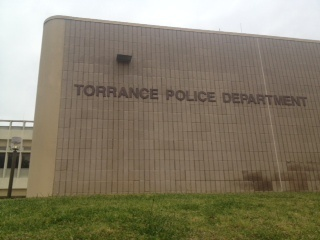 Torrance Police Department headquarters in Torrance, CA.