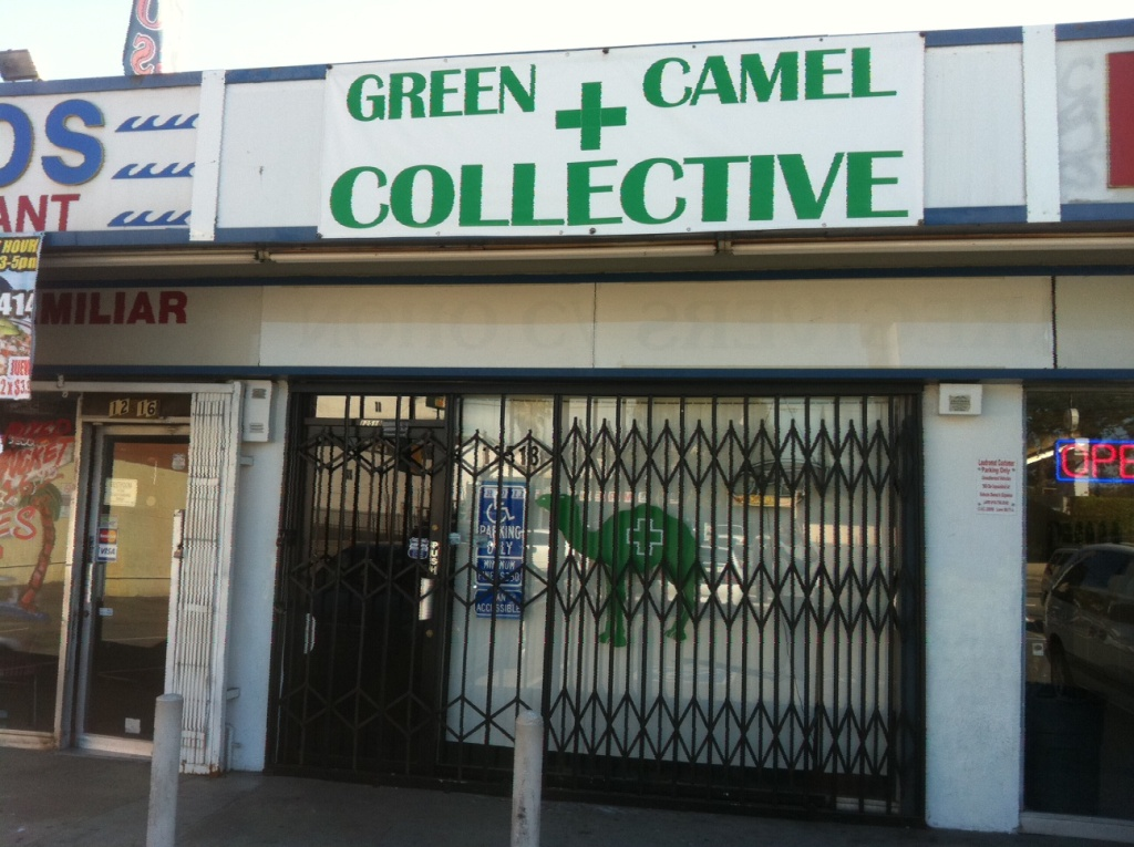 Dispensaries like this one are going up in smoke due to the LA city council ban