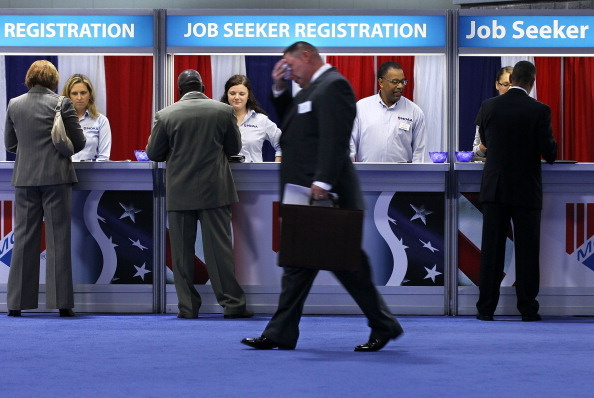 Military Career Fair Held At Washington Convention Center