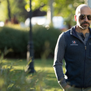 Dara Khosrowshahi, chief executive officer of Expedia, Inc., attends the annual Allen & Company Sun Valley Conference, July 7, 2016 in Sun Valley, Idaho.
