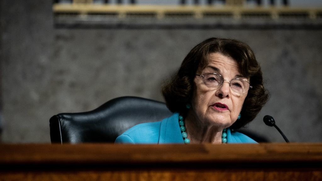 Sen. Dianne Feinstein, D-Calif., is the ranking member on the Senate Judiciary Committee, which is holding hearings on the Supreme Court nomination of Amy Coney Barrett this week.
