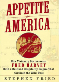 Stephen Fried remembers the Harvey Girls -- the country's first female workforce in his new book.