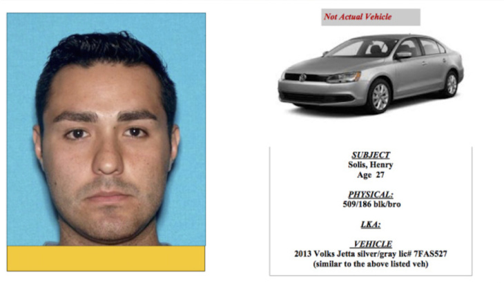 Henry Solis is wanted by the LAPD for murder.