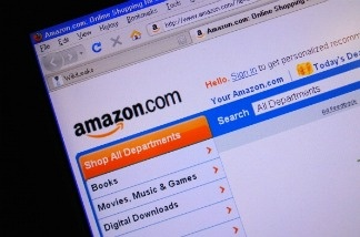 Amazon.com's home page.