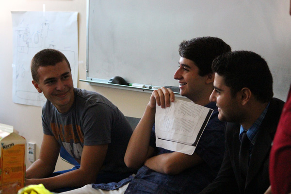 Students become very close during the five-week intensive language class at UCLA.