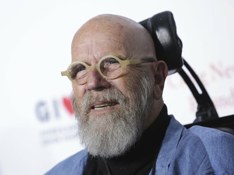 Artist Chuck Close, shown here in November, has been accused of sexual harassment by multiple women.