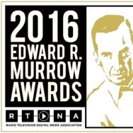 KPCC receives the 2016 Edward R. Murrow Award for its investigative work with the Officer Involved series.