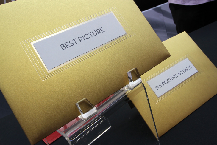 83rd Annual Academy Awards - The Oscar Envelope