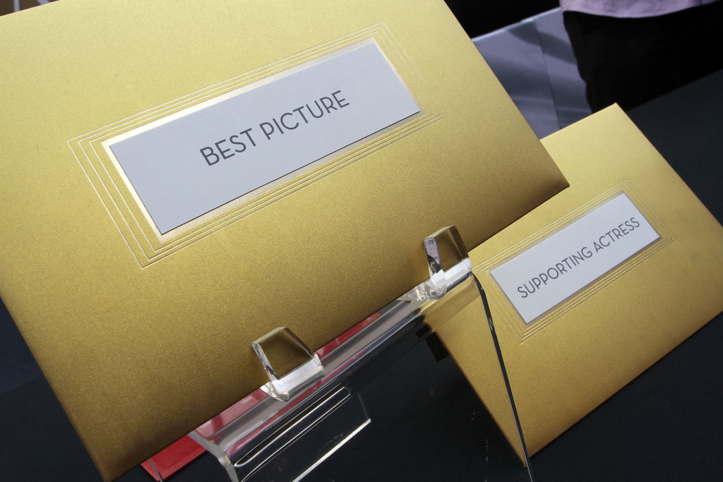 Presentation of the new Oscar envelope for the 83rd Annual Academy Awards - The Oscar Envelope on February 26, 2011 in Hollywood, California.