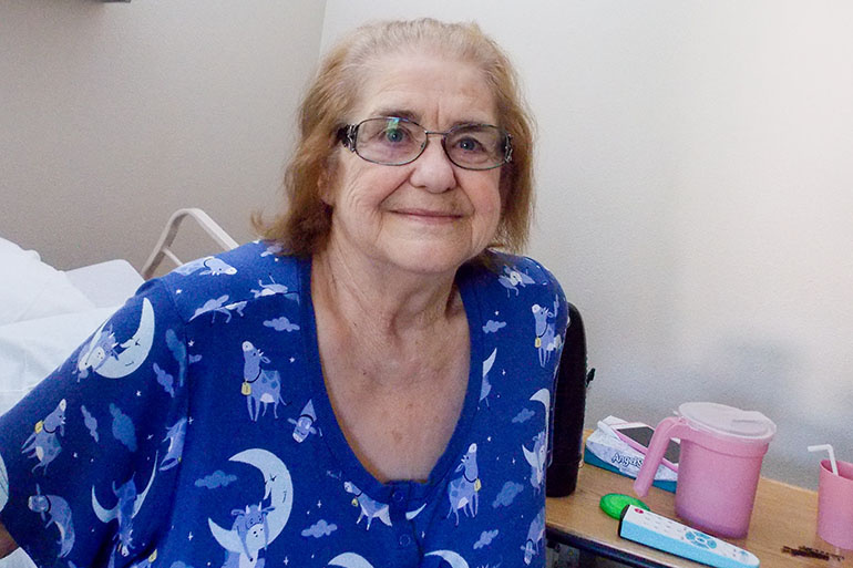 Mary De Freze, 81, doesn't want to be in a lot of pain at the end of life and doesn't want to be kept alive by machines. Stonebrook Healthcare Center staff helped her put those wishes on a POLST form