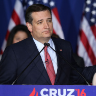 GOP Presidential candidate, Sen. Ted Cruz Holds Indiana Primary Night Gathering