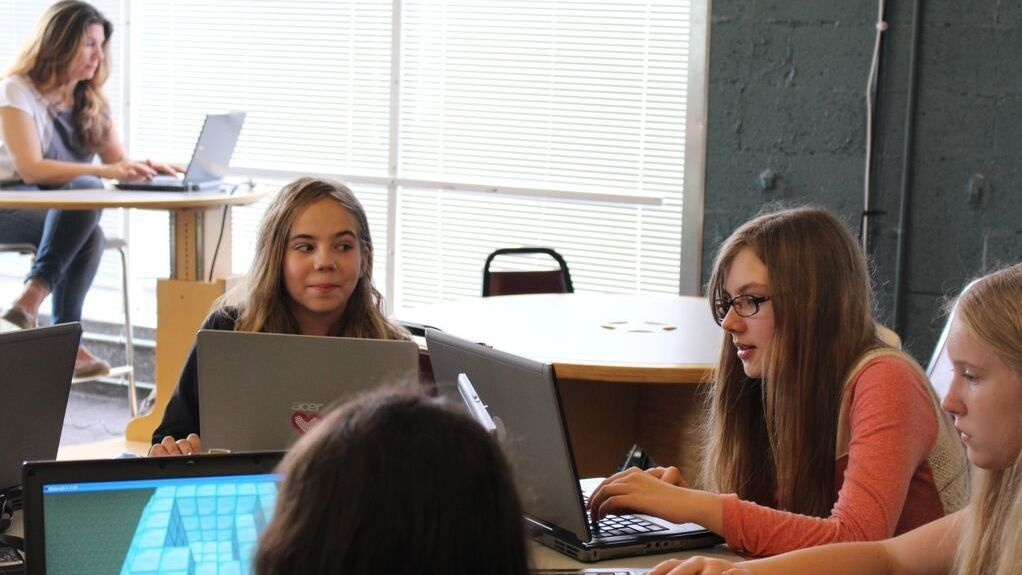 At a Minecraft camp in Shaker Heights, Ohio, kids trade secrets about making their virtual worlds come to life.