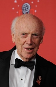 James Watson, co-discoverer of the structure of DNA, arrives at Time Magazine's 100 Most Influential People in the World dinner on May 8, 2008 in New York.