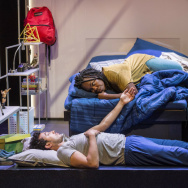 "Wade Allain-Marcus and Ngozi Anyanwu in ""Good Grief"""