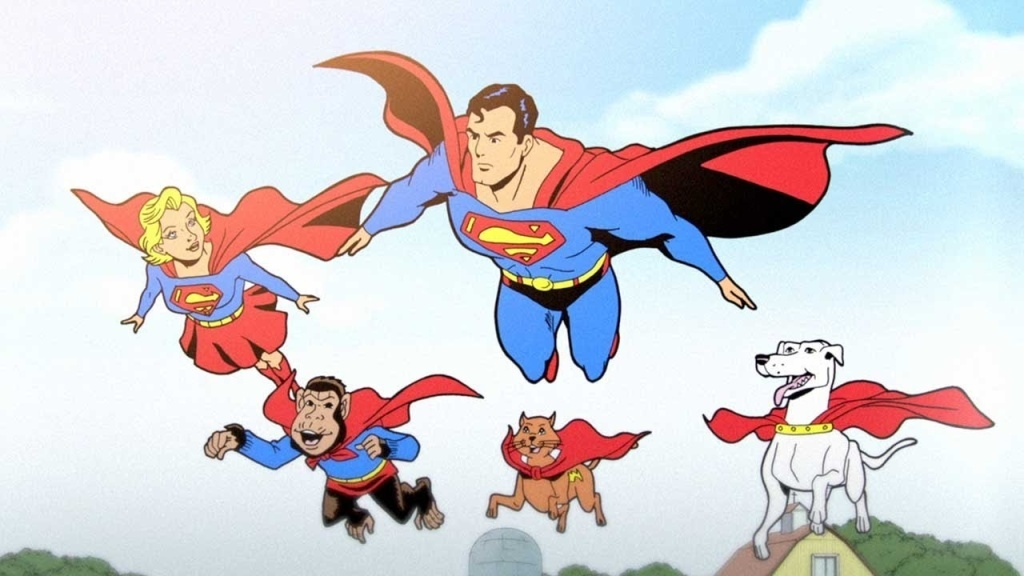 An animated short showing the history of DC Comics' Superman.