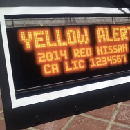 hit and run yellow alert