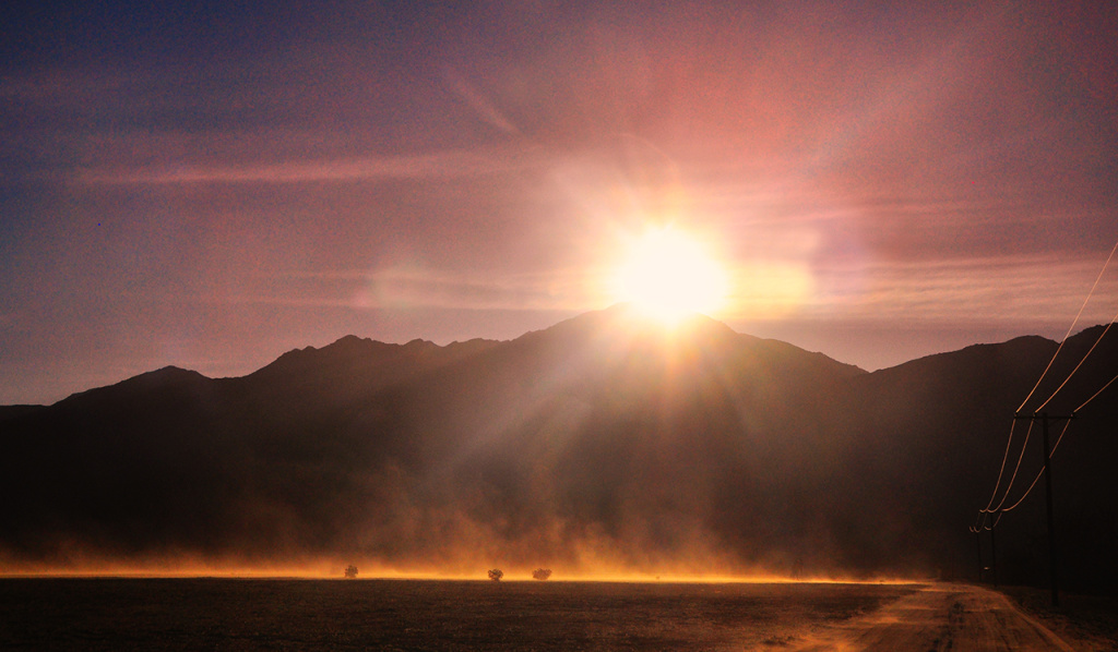 sun drought desert dust heat