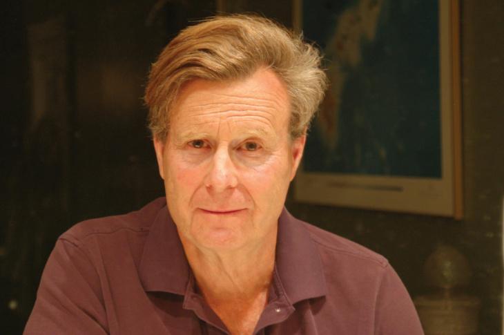 Portrait of Mark Helprin.
