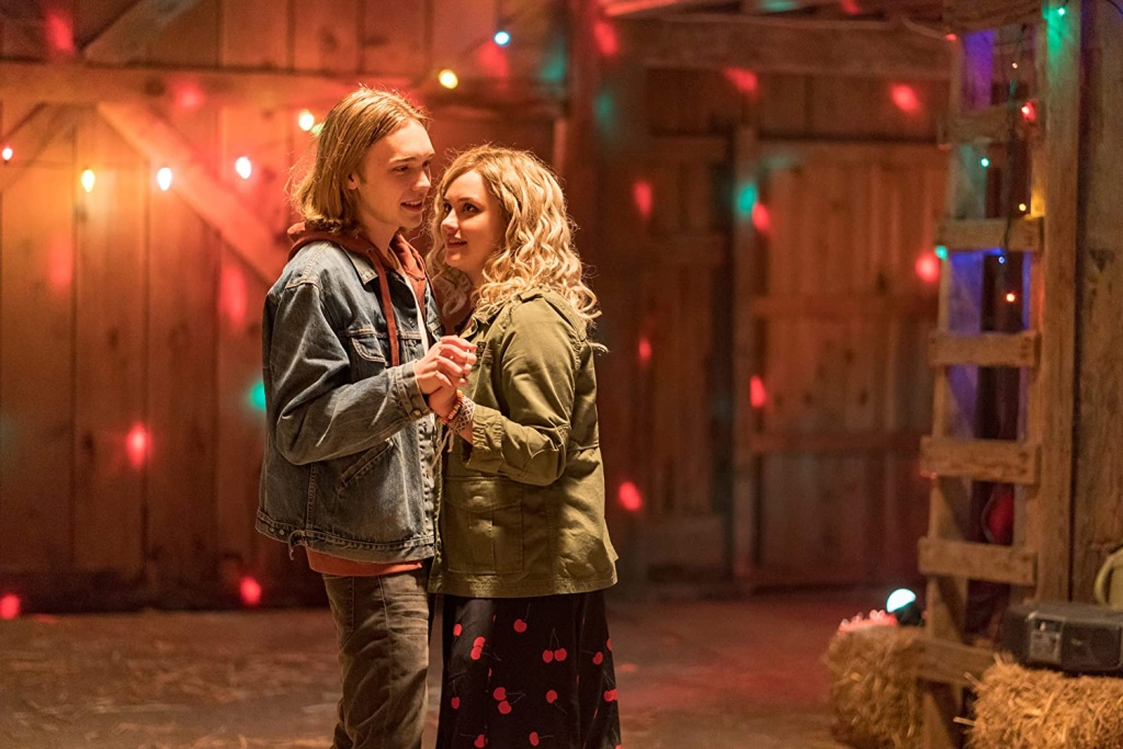 Charlie Plummer and Katherine Langford in