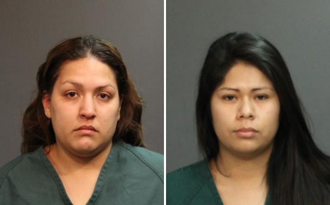 This composite of photos provided by the Santa Ana Police Department shows defendants Candace Brito (L) and Vanesa Zavala (R), who are each charged with one felony count of murder in connection with the death of Kim Pham, the 23-year-old woman who was beaten outside a Santa Ana nightclub on Jan. 18.