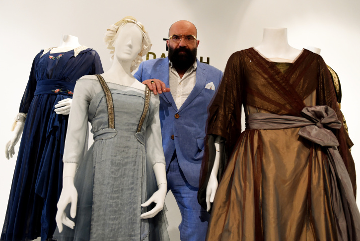 The Frame®   'The Danish Girl' costumer Paco Delgado had
