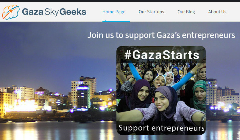 Gaza Sky Geeks, a startup accelerator, is drawing interest and crowdfunding from around the region and the world.