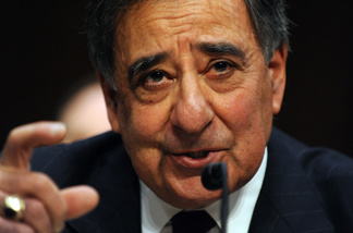 Leon Panetta, Director of the Central Intelligence Agency testifies before the Senate Select Committee on Intelligence on Feburary 16, 2011 on Capitol Hill in Washington, DC.