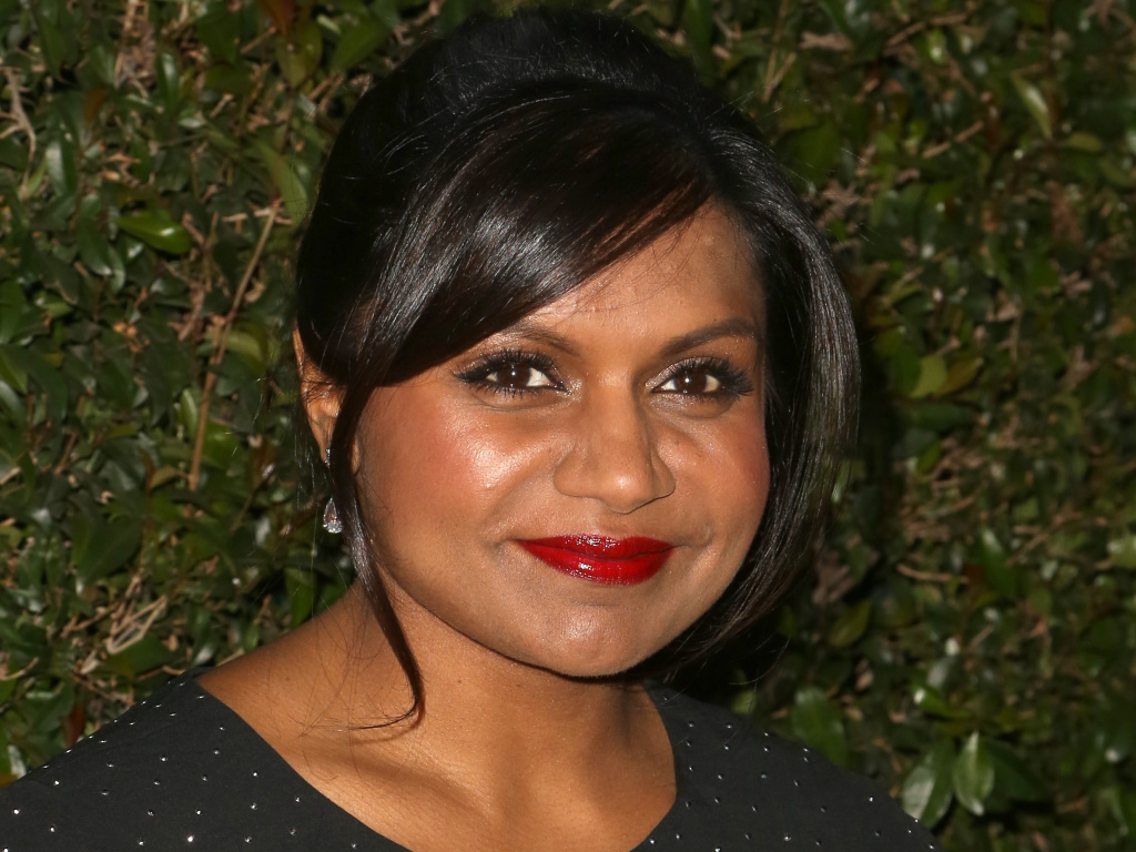 <strong>Hey, isn't that ...?</strong> New facial recognition software is designed to help store employees recognize celebrities like Mindy Kaling — and other bold-faced names.