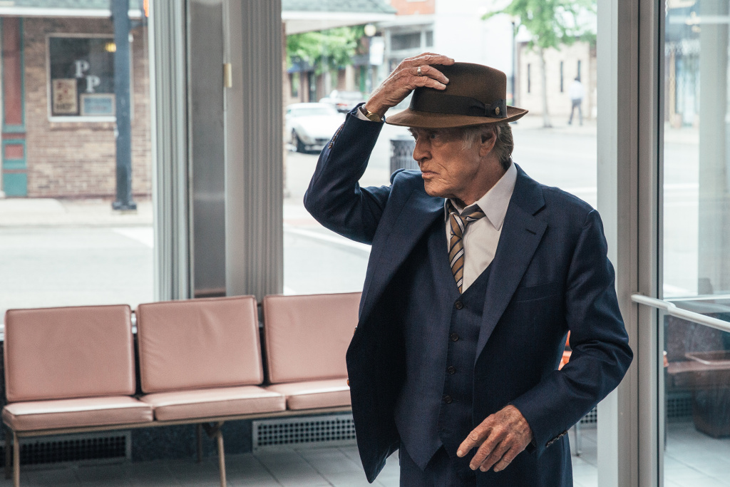 Robert Redford plays a gentleman bank robber in