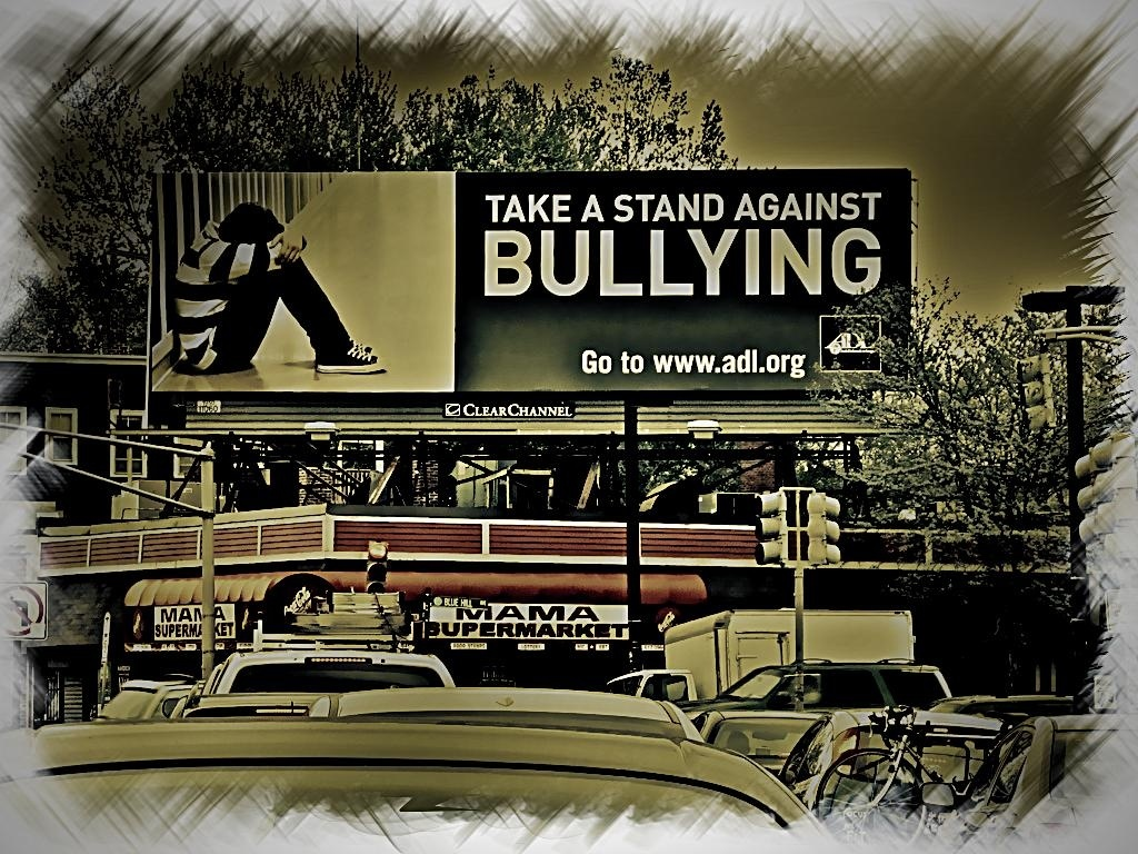 In this file photo, a billboard displays an ad against bullying, part of a campaign by the Anti-Defamation League. The Carson City Council has rejected what would have been the first anti-bullying city ordinance of its kind in California.