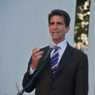Senator Mark Leno at Day of Decision Prop 8 protest