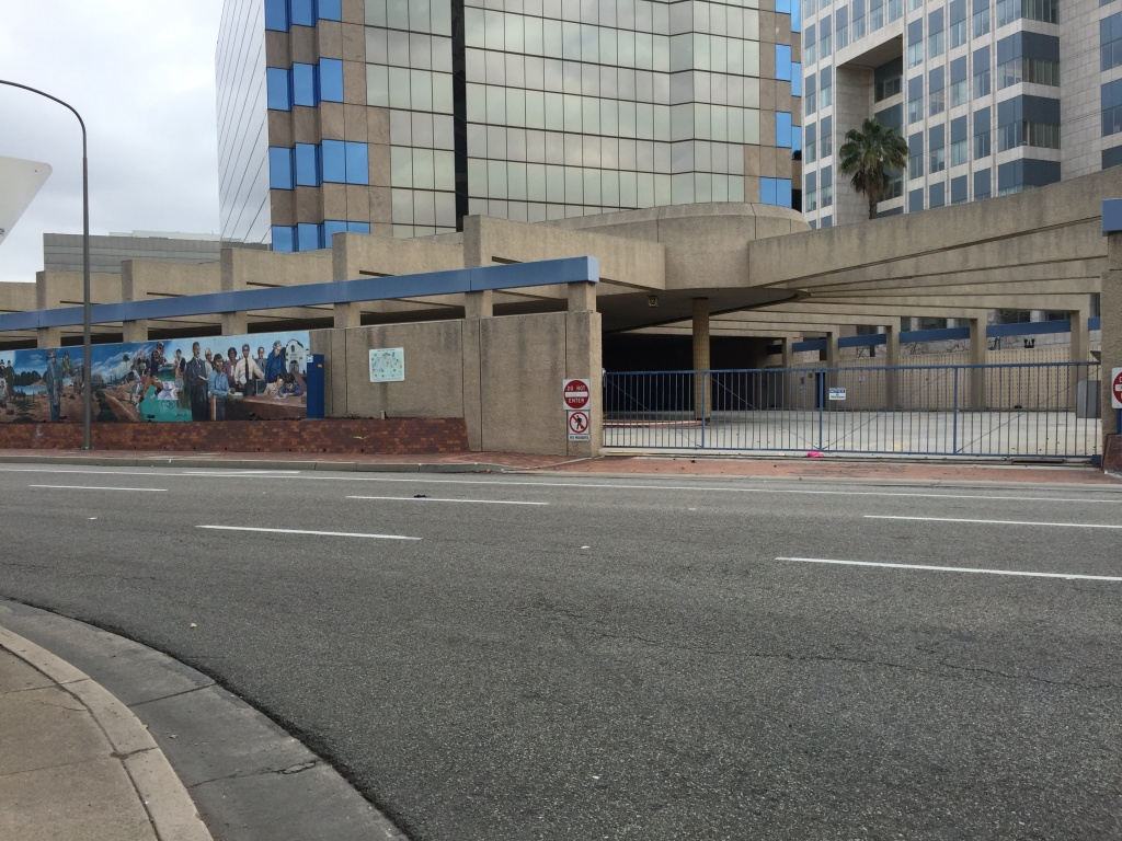 The Santa Ana Transit Terminal has been closed since 2008 but was temporarily reopened during bad weather this year to provide a bit of shelter to the more than 400 homeless people living at the Orange County Civic Center area.