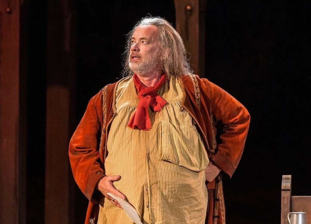 Tom Hanks is Falstaff in the Shakespeare Center of Los Angeles production of