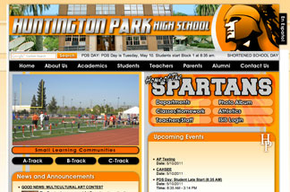 Huntington Park High School website