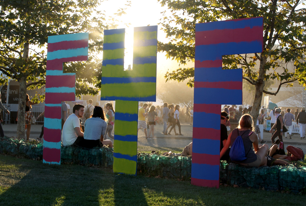 Music fans attend Day 1 of FYF Fest 2013 at Los Angeles State Historic Park