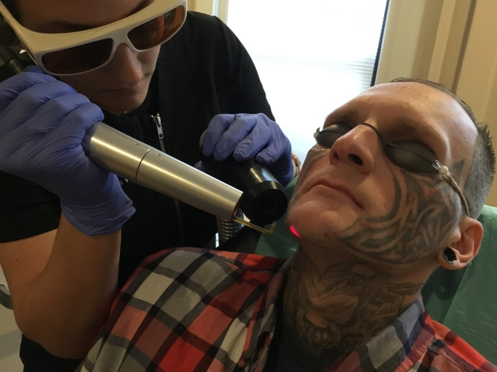 Shane MacLeod is covered head-to-toe in tattoos. He says he's tired of being pre-judged.