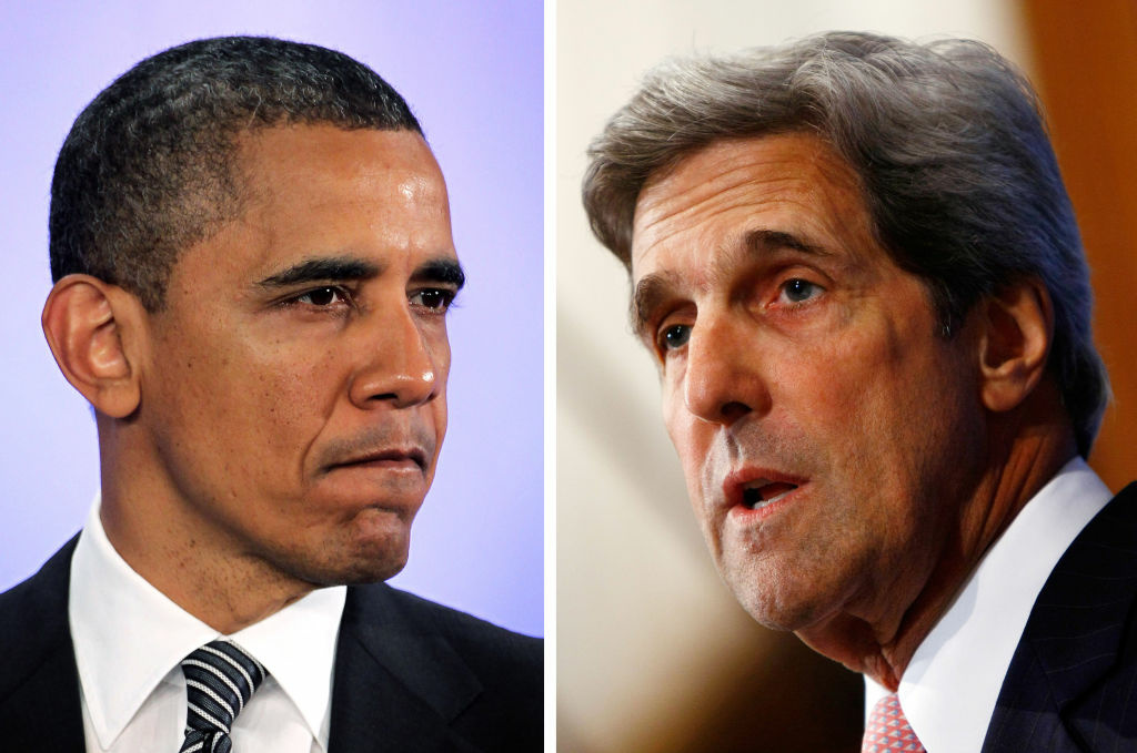 President Barack Obama (L)  plans to announce Sen. John Kerry (D-MA) as the next US Secretary Of State, replacing Hillary Clinton.