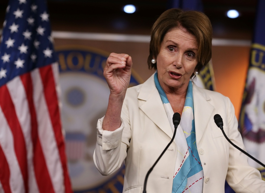Democratic minority leader Nancy Pelosi voted against the amendment.