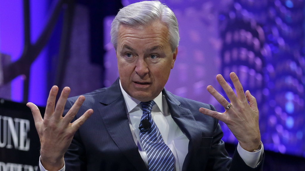 John Stumpf, former CEO of Wells Fargo. Stumpf stepped down in light of sales scandals.