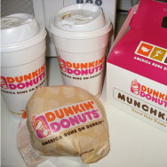 dunkin' donuts to california