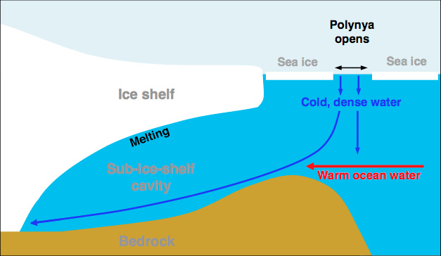 Totten Glacier diagram